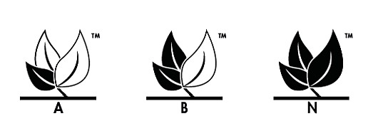 Leaf icon designation